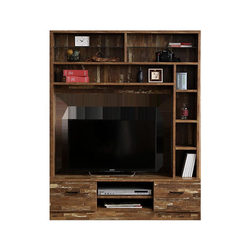壁面収納付きテレビボード