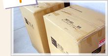 Step1:家具350から商品が届きました!/念願のダイニングテーブルセット。