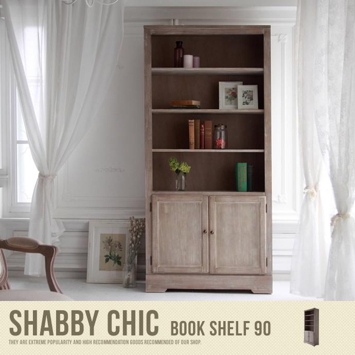 Shabby chic Bookshelf 90