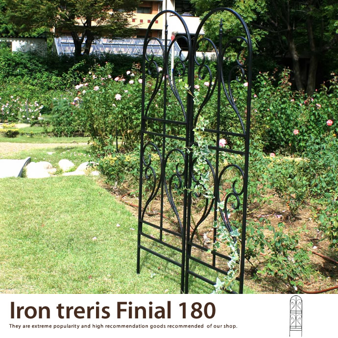 Iron treris Finial 180