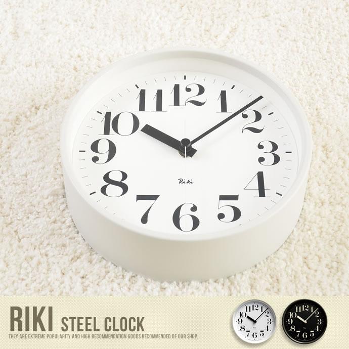 RIKI STEEL CLOCK WR